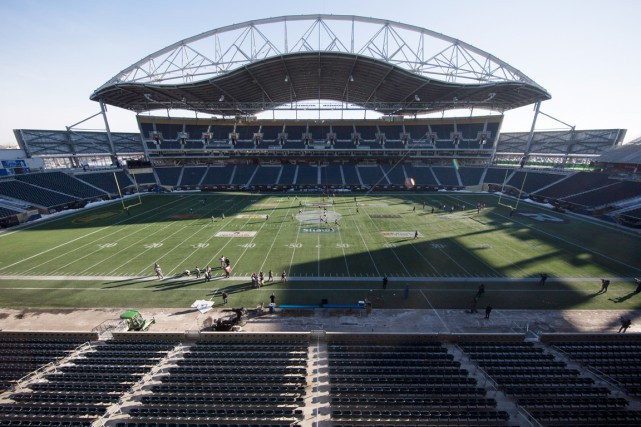 Le stade Investors Group Field, à Winnipeg.... (PHOTO DARRYL DYCK, ARCHIVES PC)