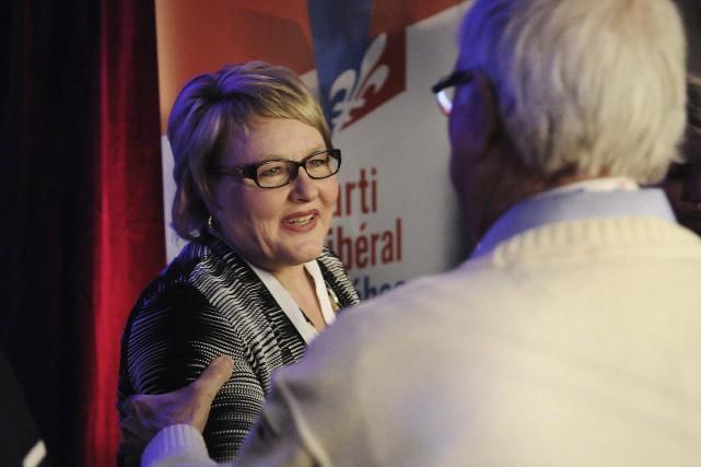 Francyne T. Gobeil représentera le Parti libéral du... (Archives Le Quotidien, Mariane L. St-Gelais)