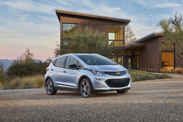 La Chevrolet Bolt EV peut rouler jusqu'à 320... (fournie par General Motors)