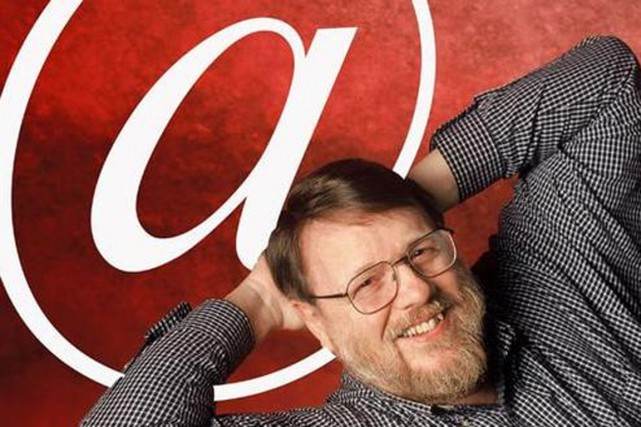 Ray Tomlinson... (Photo tirée de YouTube)
