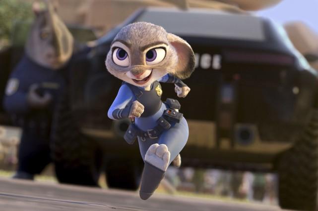 Zootopiarelate les aventures de la charmante lapine Judy... (AP)