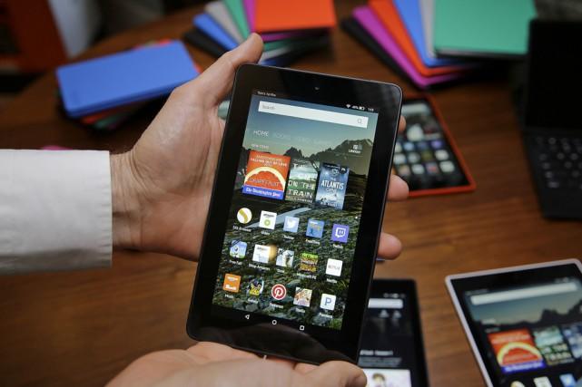 Les utilisateurs des tablettes Fire pourront encore protéger... (Archives Associated Press)