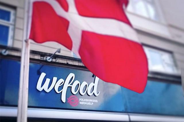 WeFood, un magasin danois situé à Copenhague, est...