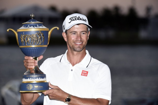 Adam Scott... (Photo John David Mercer, USA TODAY Sports)