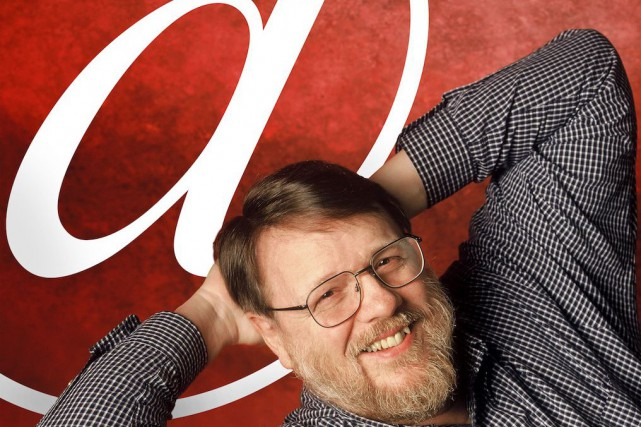Raymond Tomlinson... (AP, Raytheon/ Internet Hall of Fame)