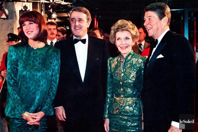Selon Brian Mulroney, Nancy Reagan avait une forte... (Photothèque Le Soleil)