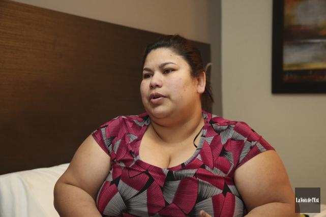 Véronica Sanchez Mejia sera éternellement reconnaissante envers toutes... (Julie Catudal, La Voix de l'Est)