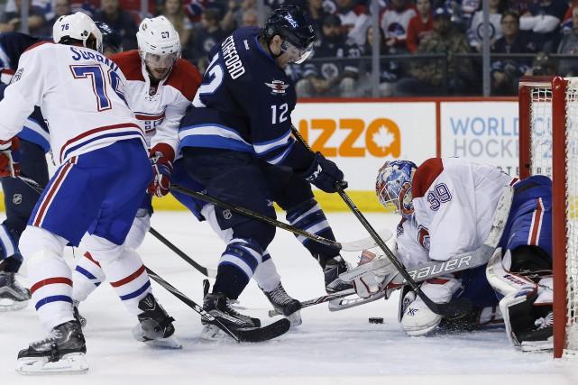 Le Canadien a essuyé quatre revers en quatre... (La Presse Canadienne)