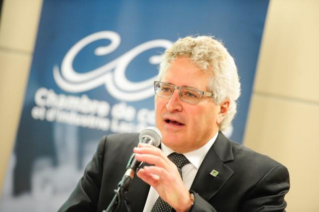 André Tremblay, président du Conseil de l'industrie forestière... (PHOTOGimmy Desbiens, Archives Le Quotidien)