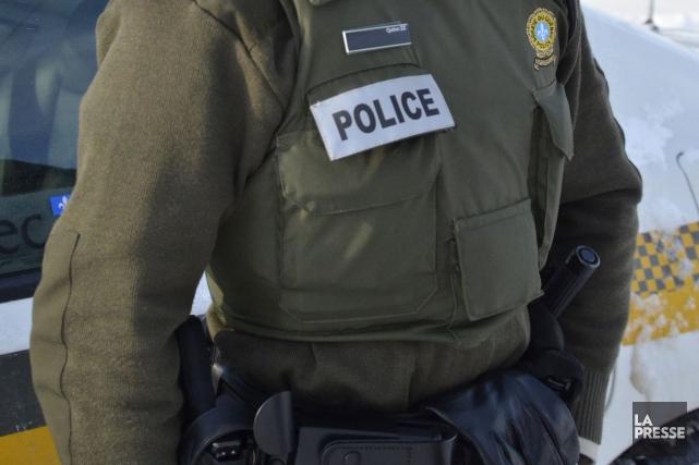 Un homme de 21 ans a donné du fil à retordre aux policiers de la Sûreté du... (Archives La Presse)