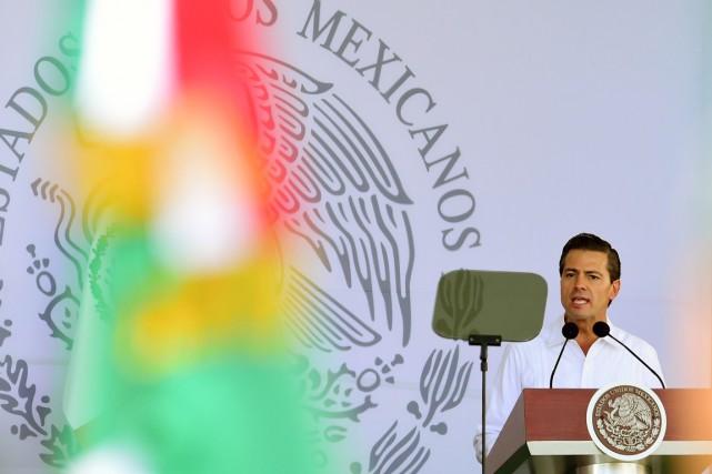 Le président mexicain a malgré tout assuré que... (PHOTOALFREDO ESTRELLA, ARCHIVES AFP)