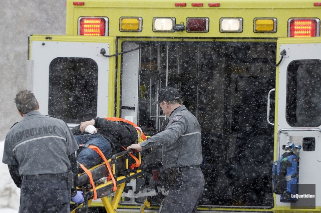 Les mauvaises conditions climatiques pourraient être en cause dans un accident... (Archives Le Quotidien)