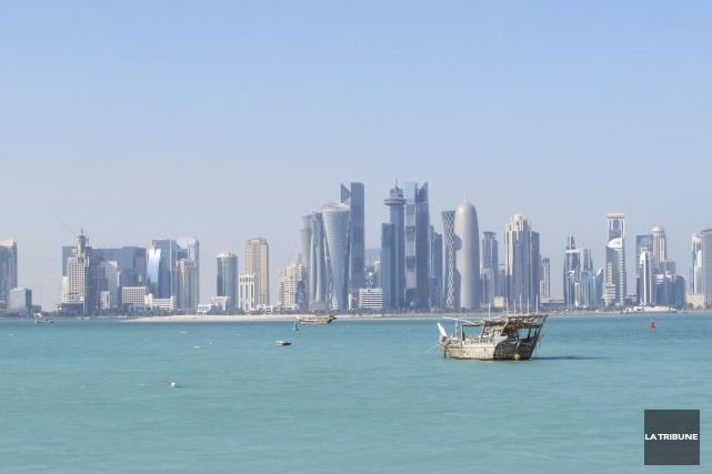 Un des signes distinctifs de Doha est la... (La Tribune, Jonathan Custeau)