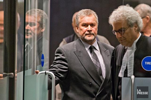 Outre le chef de fraude, Jean Audette, 55ans,... (PHOTO PATRICK SANFAÇON, LA PRESSE)