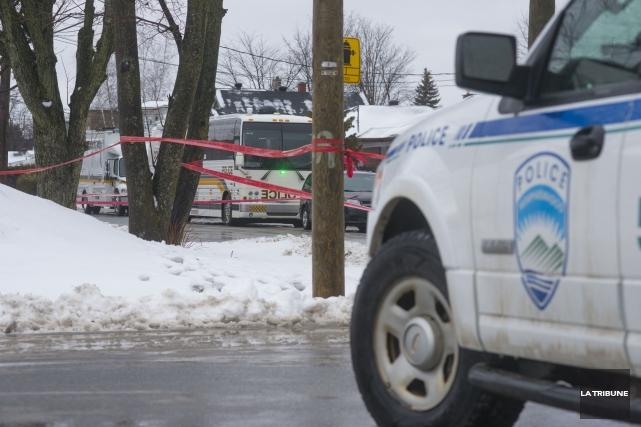 La fusillade a eu lieu la semaine dernière... (Archives La Tribune, Julien Chamberland)