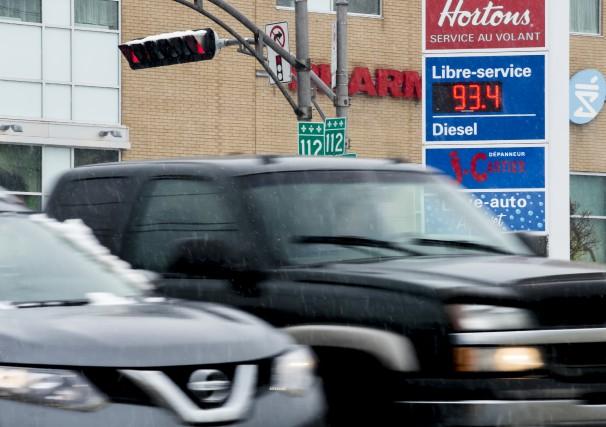 Même si les marges de profit et que le prix du litre d'essence a baissé en 2015...
