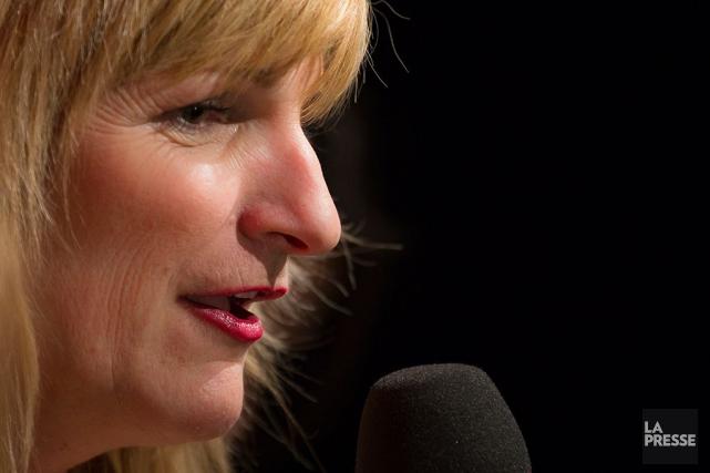 Marie-France Bazzo, qui a mis un terme à son émission hebdomadaire à... (PHOTO OLIVIER PONTBRIAND, ARCHIVES LA PRESSE)