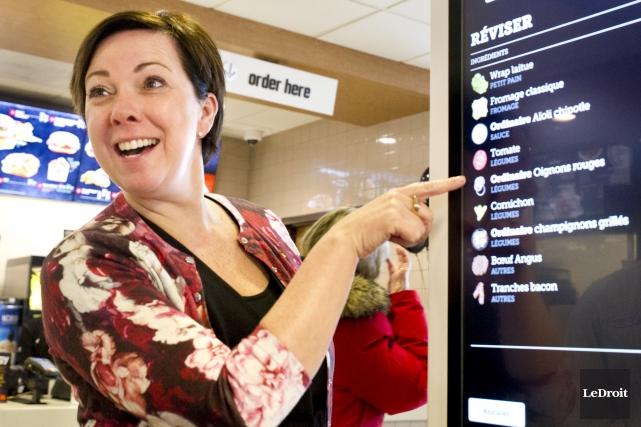 La vice-présidente régionale de l'Est du Canada chez... (Martin Roy, LeDroit)
