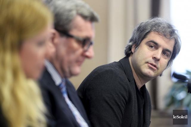 Le directeur de EXMURO, Vincent Roy, a promis... (Le Soleil, Jean-Marie Villeneuve)