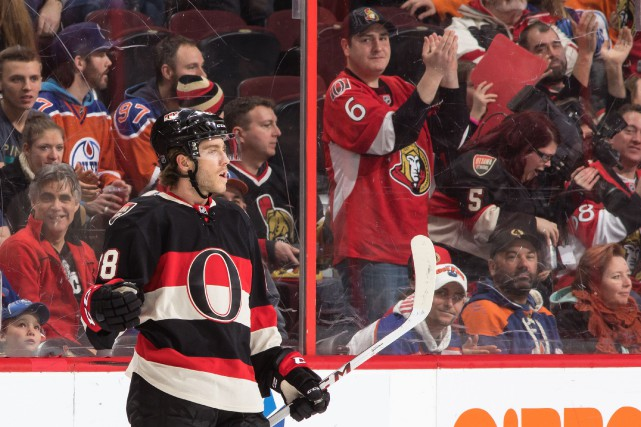 Mike Hoffman n'a que trois buts en 18 matches... (Archives, Agence France-Presse)