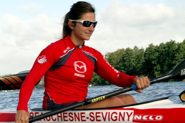 Geneviève Beauchesne-Sévigny accroche son aviron pour de bon....