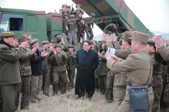 Le dirigeant nord-coréen «Kim Jong-Un peut choisir, ce... (Photo AFP)