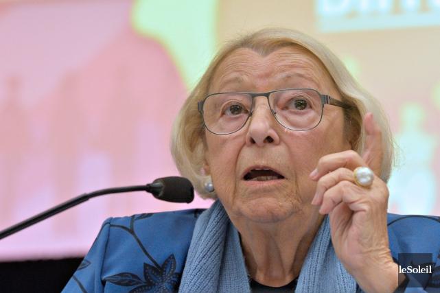 Lise Thériault n'est pas la meilleure personne pour... (Photothèque Le Soleil, Pascal Ratthé)