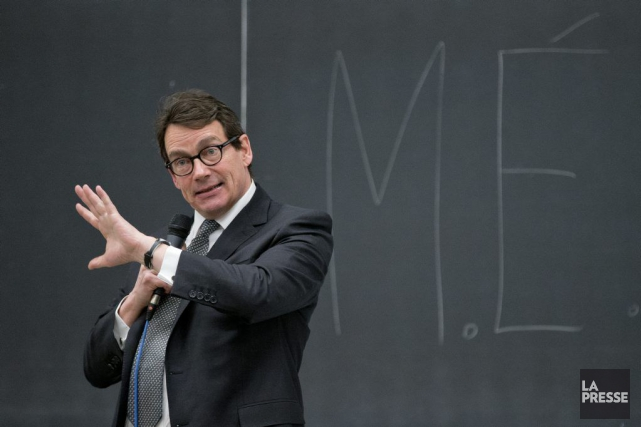 M.Péladeau dit ne pas avoir confiance dans le... (La Presse)