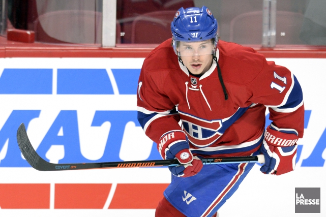 Brendan Gallagher s'est blessé au bas du corps,... (PHOTO ARCHIVES LA PRESSE)