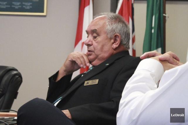 Le conseiller municipal de la municipalité de La... (Martin Brunette, LeDroit)