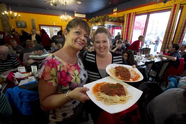 La propriétaire du restaurant Bonheur d'Italie, Sandra Raymond,... (Spectre Média, René Marquis)