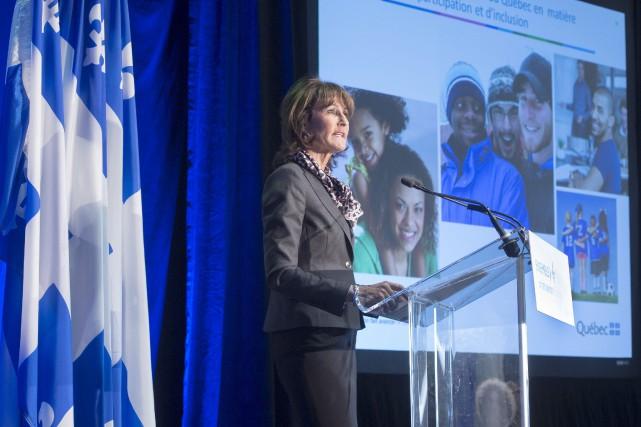 La ministre Kathleen Weil a annoncé lundi la... (La Presse Canadienne, Ryan Remiorz)