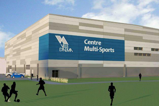 Voici à quoi ressemblera le centre multisports à... (Photo courtoisie)