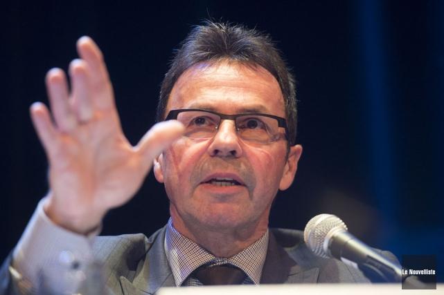 Le maire de Shawinigan Michel Angers.... (Stéphane Lessard, Le Nouvelliste)