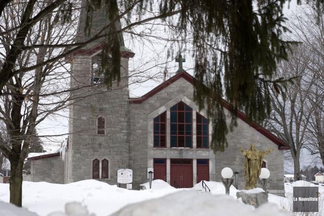 L'église de Saint-Justin risque de fermer d'ici les... (Stéphane Lessard, Le Nouvelliste)