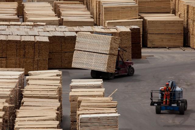 Au total, 11 des 18 secteurs couverts par... (PhotoDavid Ryder, archives Bloomberg)