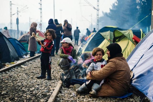 L'UE et la Turquie ont trouvé un accord... (PHOTO DIMITAR DILKOFF, AFP)