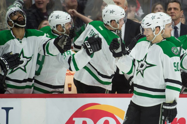 Jason Spezza (90) a six buts à ses... (Photo Marc DesRosiers, USA TODAY Sports)