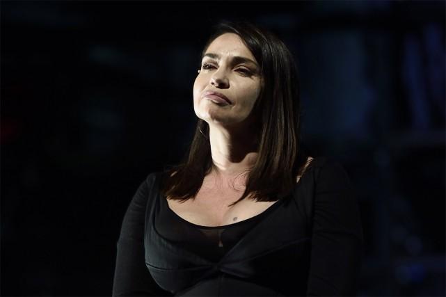 Forcée à prendre une période de repos de quelques semaines, Béatrice Dalle... (PHOTO AFP)