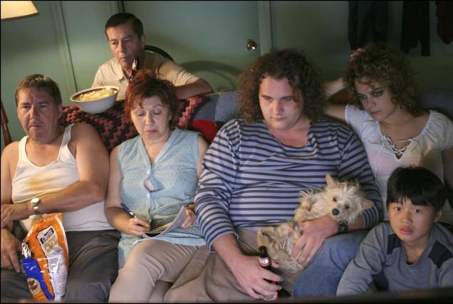 La famille Bougon lors de la première saison... (PHOTO FOURNIE PAR RADIO-CANADA)