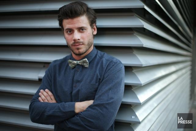 Le comédienFrançois Arnaud a obtenule rôle principal du... (PHOTO MARTIN CHAMBERLAND, ARCHIVES LA PRESSE)