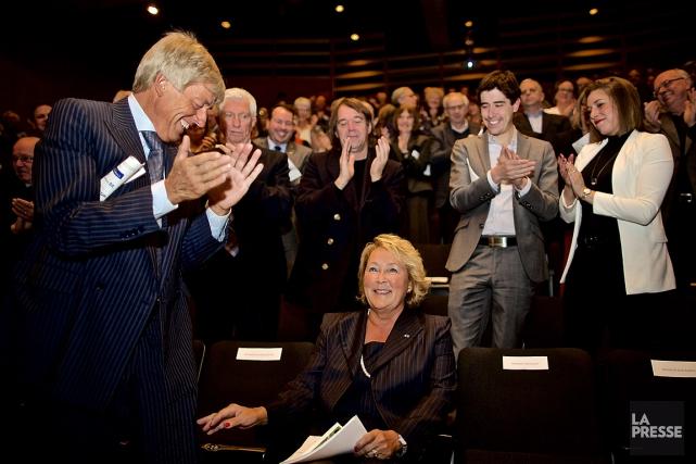 À l'occasion du 75e anniversaire du droit de... (PHOTO ANDRÉ PICHETTE, LA PRESSE)