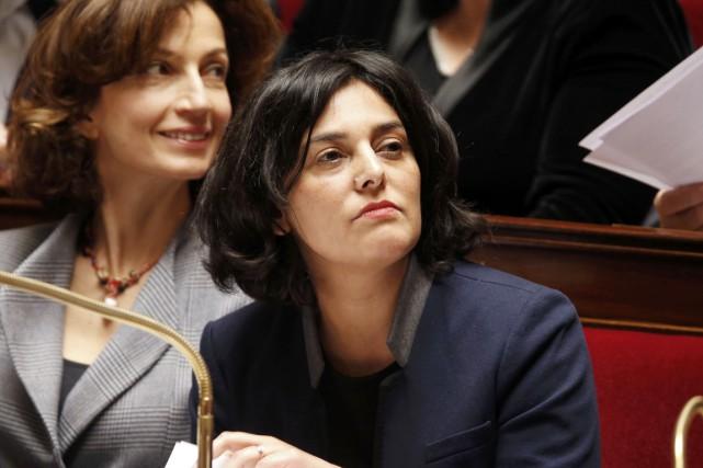 La ministre du Travail Myriam El Khomri, à... (PHOTO CHARLES PLATIAU, REUTERS)