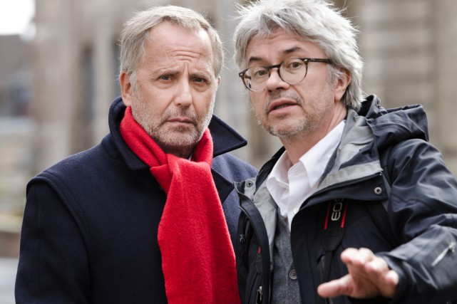 Fabrice Luchini et Christian Vincent dans L'hermine.... (PHOTO FOURNIE PAR AZ FILMS)