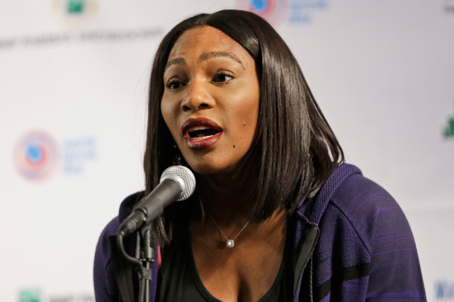 Serena Williams... (Photo Seth Wenig, AP)