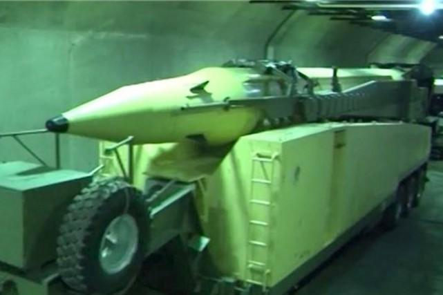 «Une variété de missiles balistiques de longue, moyenne... (PHOTO ARCHIVES REUTERS)