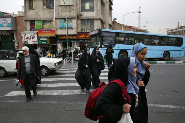 « Bon nombre d'Iraniens ont soif de changement », souligne... (PHOTO VAHID SALEMI, ASSOCIATED PRESS)