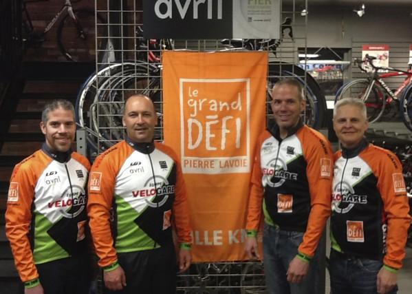 GDPL: Vélothon au profit de l'équipe Vélogare... (photo fournie par Véronique Picard)