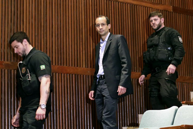Marcelo Odebrecht, 47 ans, a été à la... (PHOTO ANDREY HEULER, ARCHIVES AGENCE FRANCE-PRESSE)
