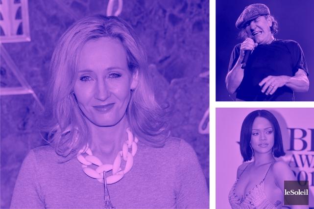Nouvelle série sur la magie pour J.K. Rowling (Infographie Le Soleil)